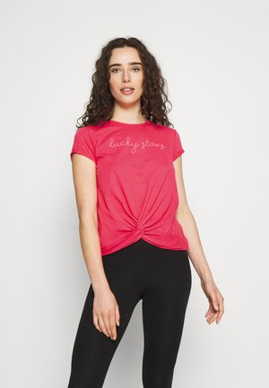 TOP KNOT - Pyjama top - rouge red