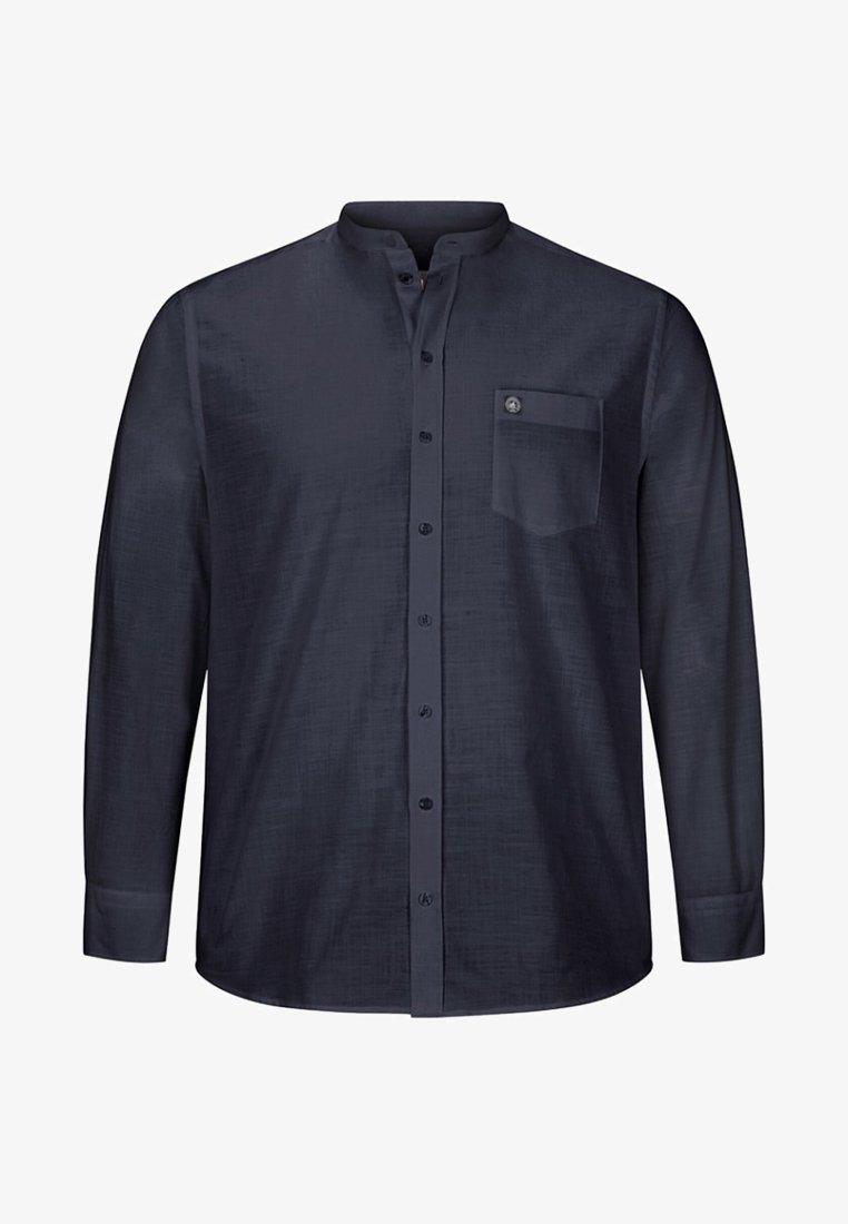Jan Vanderstorm - KALLU - Shirt - dark blue