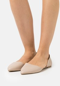 Nly by Nelly - OPEN  - Ballet pumps - beige - 0
