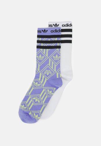 SOCK 2 PACK UNISEX - Socks - multicolor/white