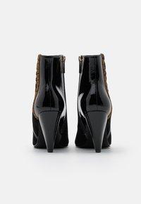 Liu Jo Jeans - SUZIE  - High heeled ankle boots - black - 3