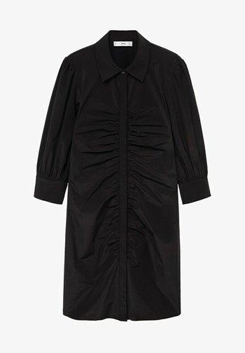 AUSTRA - Shirt dress - zwart