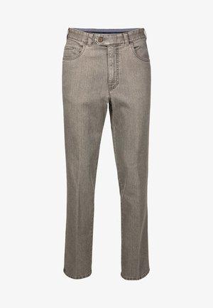 MILANO - Slim fit jeans - grey