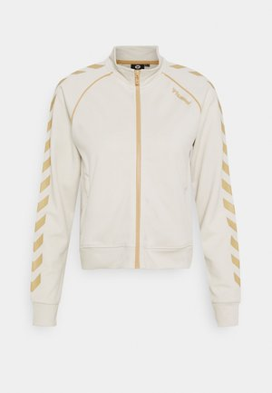 ZIBA SHORT ZIP JACKET - Veste de survêtement - bone white