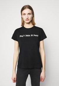 Pinko - EPICA - Print T-shirt - black - 0