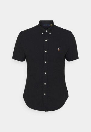 SHORT SLEEVE SHIRT - Shirt - black