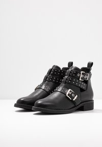 ONLY SHOES - ONLBIBI STUD  - Ankle boot - black - 4
