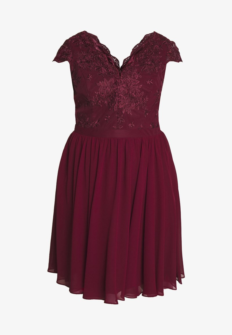 curve joen dress - cocktailkleid/festliches kleid - burgundy