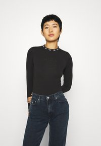 Calvin Klein Jeans - Long sleeved top - ck black - 0