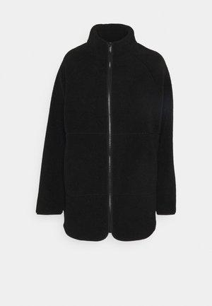 VMNINA TEDDY JACKET - Fleece jacket - black