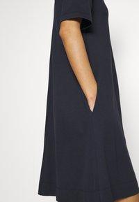 GANT - A LINE DRESS - Jersey dress - evening blue - 3