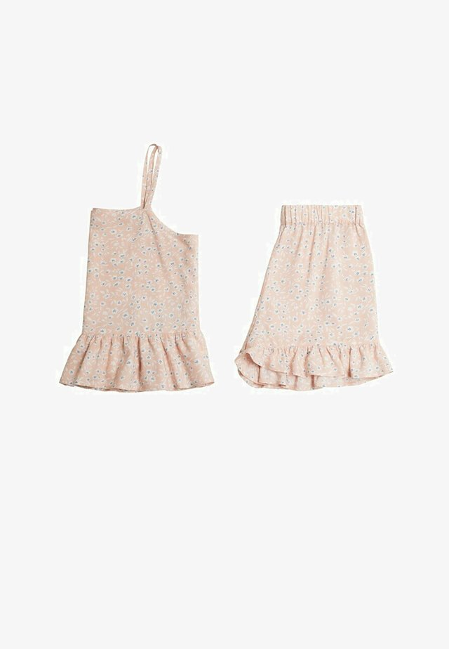 SET - Nattøj sæt - rosa