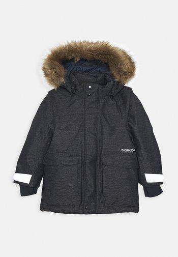 KURE - Hardshellová bunda - dark denim blue
