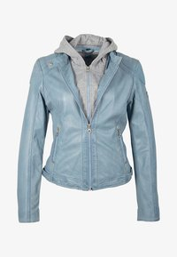 Gipsy - AELLY LAMAS - Leather jacket - light blue - 6