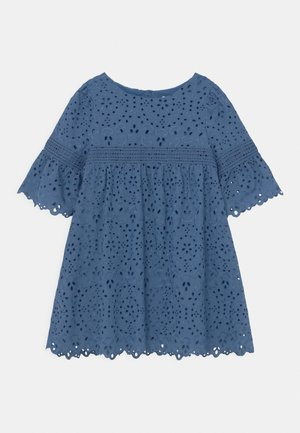 BIBERNELLE - Shirt dress - smoked sapphire