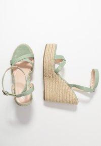 RAID - ELISHA - Sandály na vysokém podpatku - mint - 1