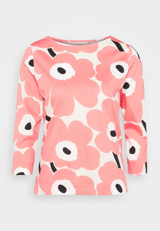 CLASSICS KOETTU UNIKKO  - Long sleeved top - beige/rose/black
