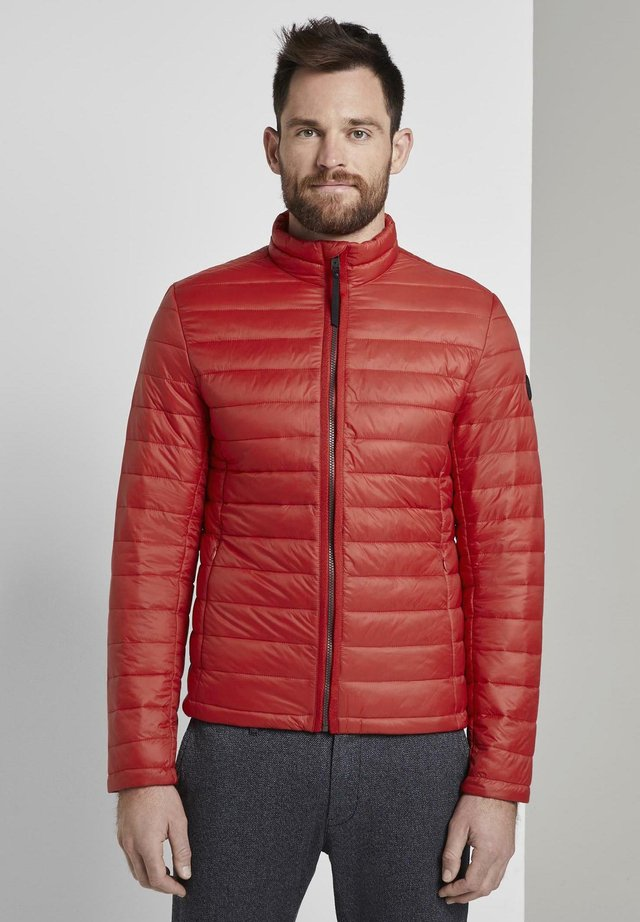 Light jacket - brilliant red