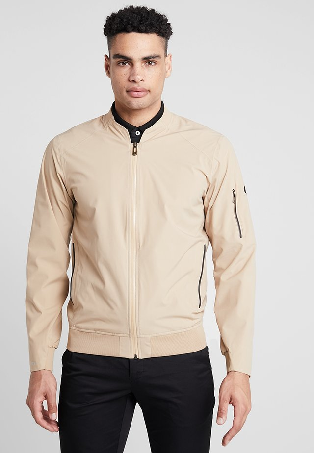 BOMBER JACKET - Regnjakke - deep birch