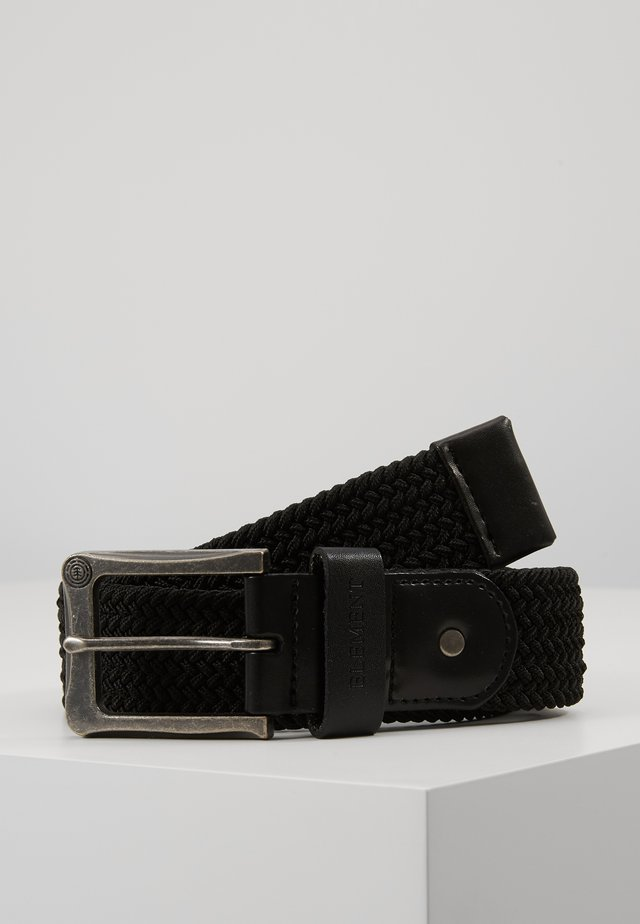 CALIBAN - Braided belt - flint black