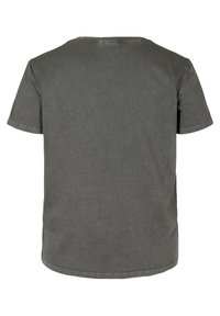Zizzi - SHORT-SLEEVED - Print T-shirt - dark grey acid wash - 5