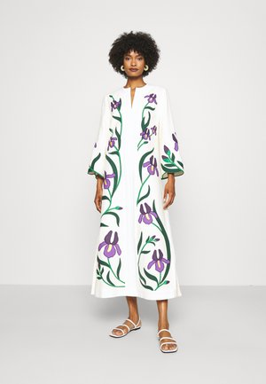 IRIS EMBROIDERED CAFTAN - Day dress - new ivory
