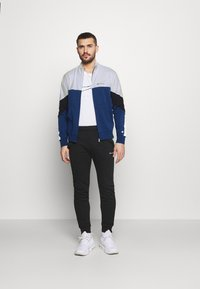 Champion - FULL ZIP SUIT - Tracksuit - blue/white - 1