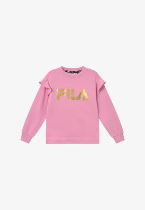LARA LOGO CREW - Sweatshirts - light pink