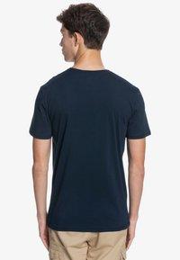 Quiksilver - LIKE GOLD - Print T-shirt - navy blazer - 2