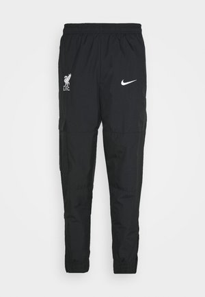 LIVERPOOL PANT - Tracksuit bottoms - black/white