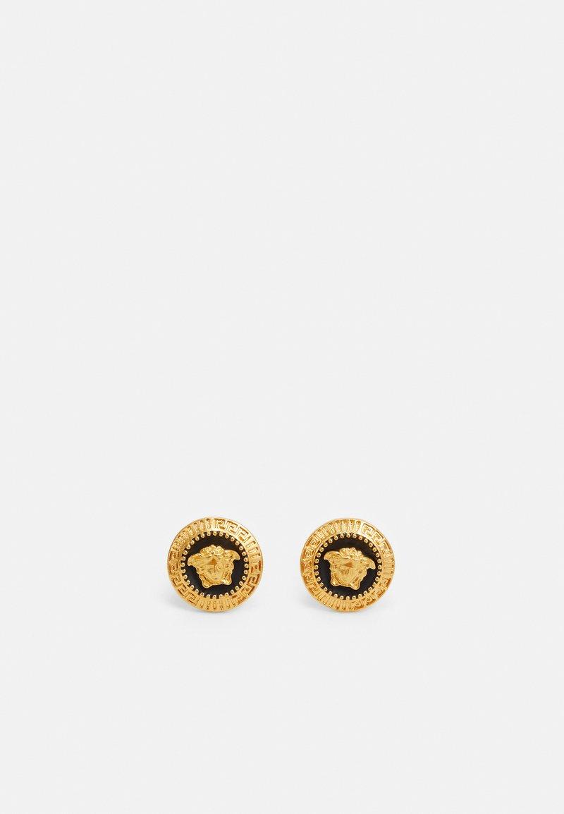 Versace - Earrings - nero/oro caldo