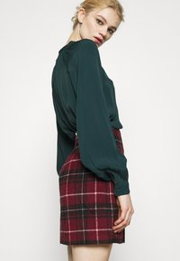 New Look - DUDLEY BRUSHED CHECK MINI - A-line skirt - multi - 3