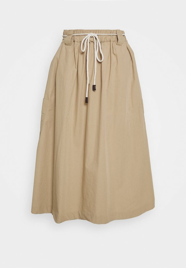 POPPY SKIRT - A-lijn rok - white paper