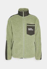BEAUVOIR UNISEX - Fleecová bunda - green/beige