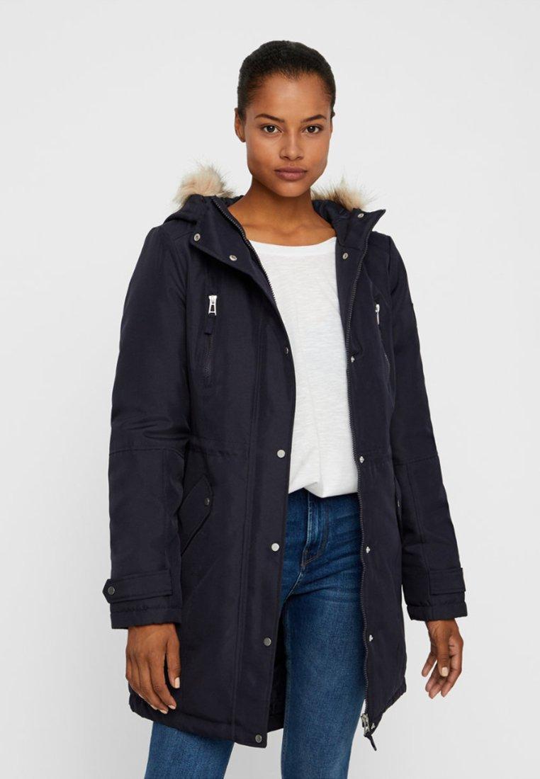 Vero Moda - VMTRACK EXPEDITION - Winter coat - dark blue