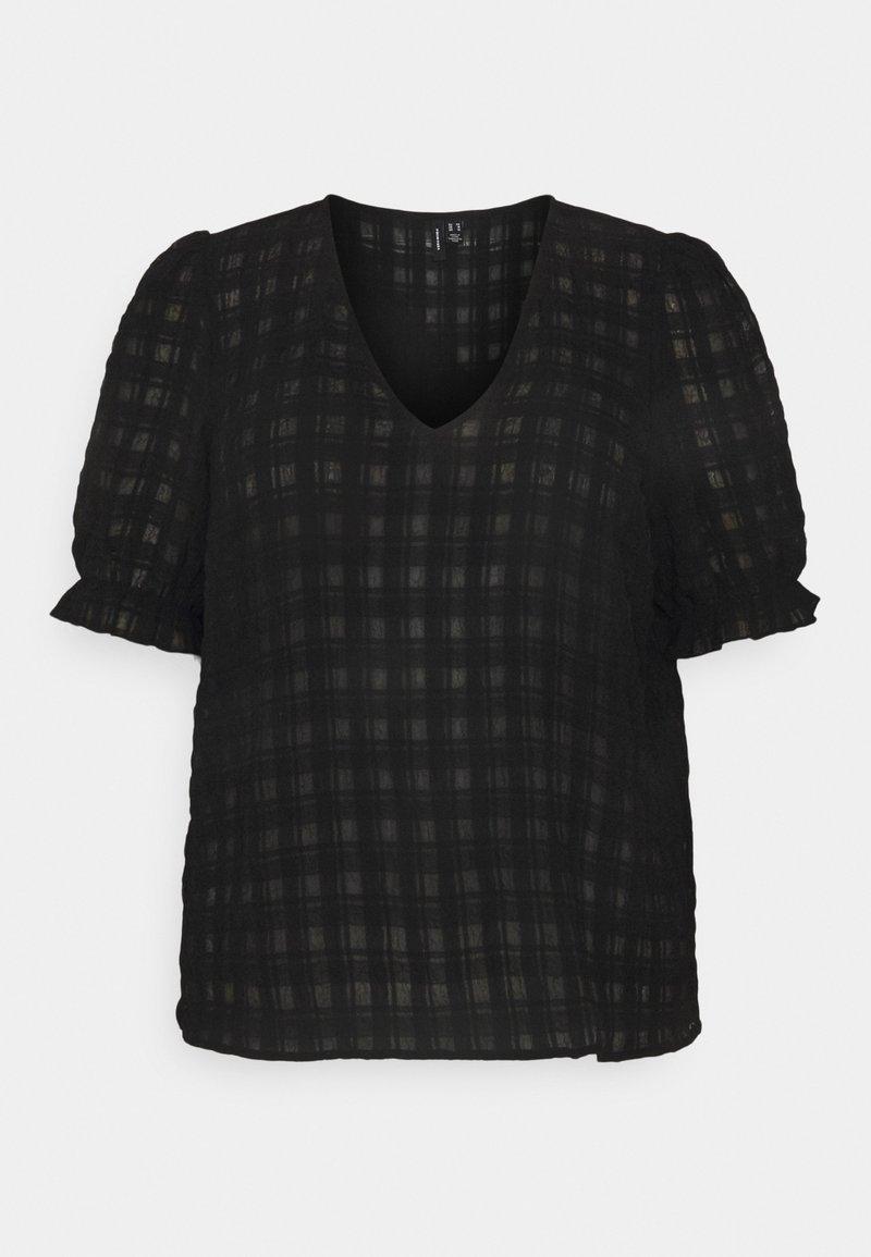 Vero Moda Curve - VMKIMM - Print T-shirt - black
