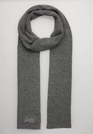 LABEL - Scarf - storm cloud grey grit