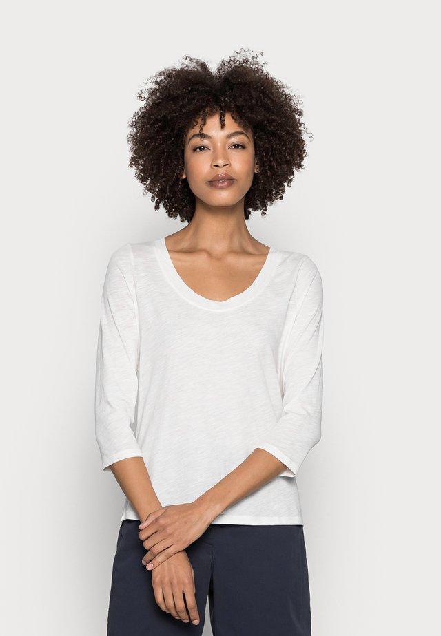 Maglietta a manica lunga - cotton white