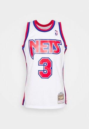 NBA NEW JERSEY NETS DRAZEN PETROVIC SWINGMAN - Club wear - white