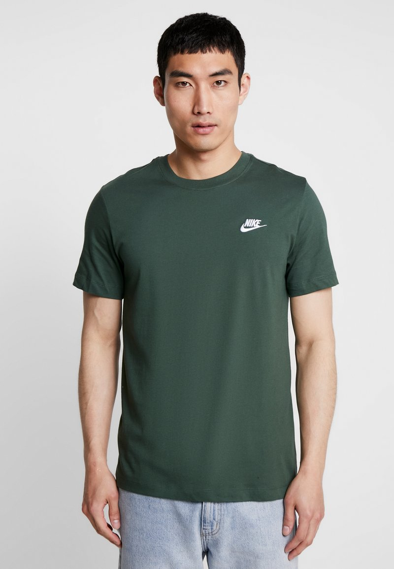 Nike Sportswear - CLUB TEE - T-shirt - bas - galactic jade/white