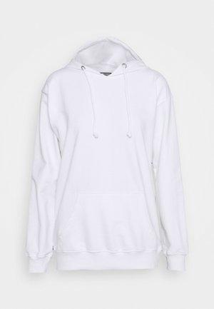 BASIC HOODY - Sweatshirt - white