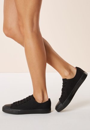 BASEBALL CANVAS - Sneakersy niskie - black