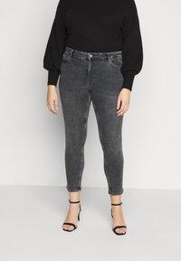 Pieces Curve - PCLILI  - Jeans slim fit - medium-grey denim - 0