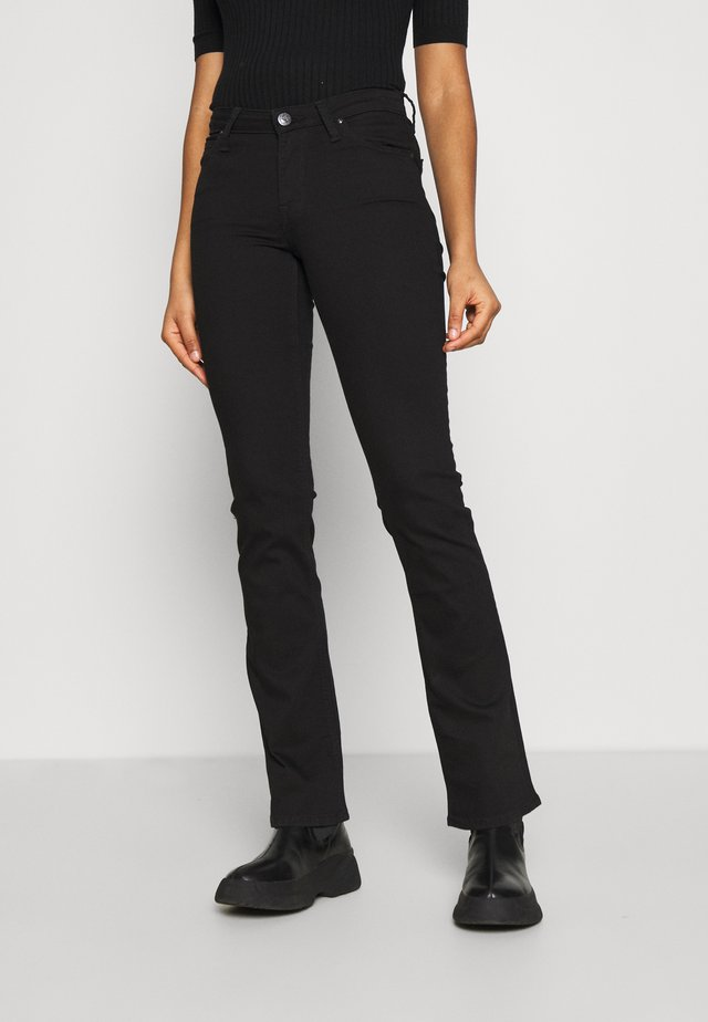 HOXIE - Jeans bootcut - black rinse