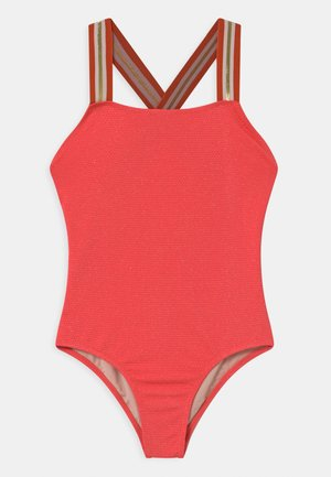 NEVE - Swimsuit - coral glitter