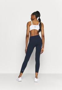 Sweaty Betty - POWER WORKOUT 7/8 LEGGINGS - Leggings - navy blue - 2