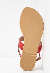 New Look Wide Fit - WIDE FIT HAMMER - tåsandaler - bright red - 6