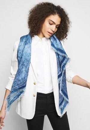 Šátek - indigo