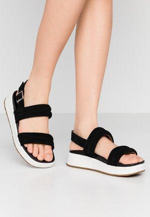 LYNNDEN - Platform sandals - black
