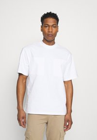 Only & Sons - ONSASHER LIFE TEE - T-shirt - bas - white - 0